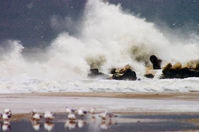варна черно море големи вълни