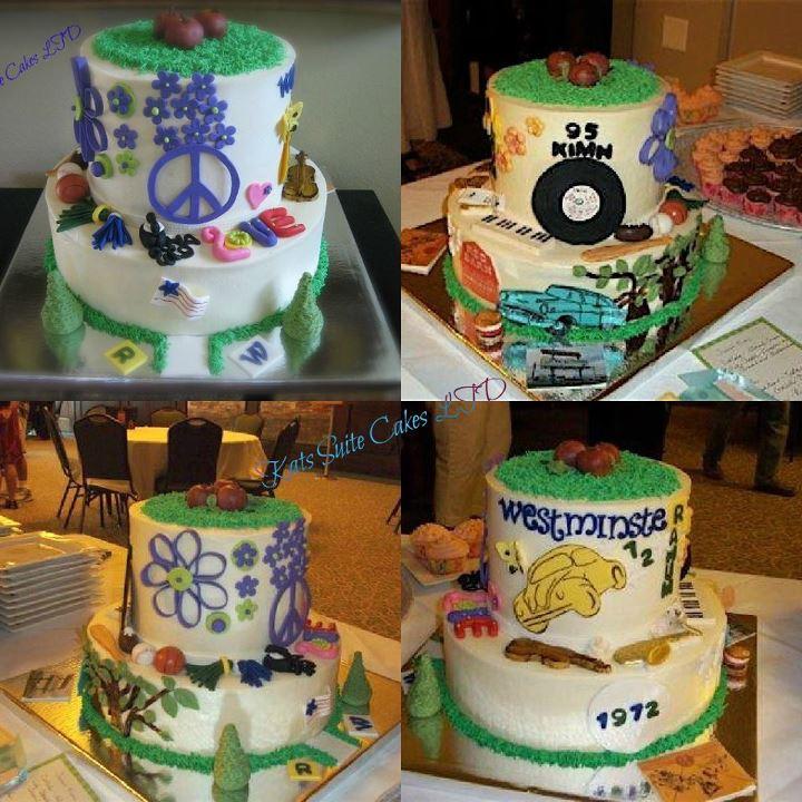 Cake Design For Class Reunion : 40th Class Reunion Cake Kats Suite Cakes