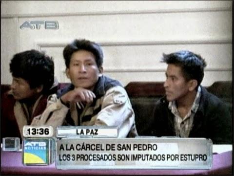 Detenidos caso menor de 14 años fueron envíados a la carcel de San Pedro