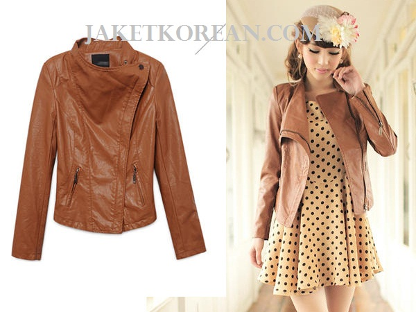 jaket kulit korea