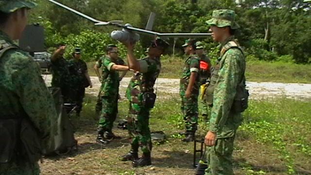 Pesawat Tanpa Awak Awasi Perbatasan Kalbar - Sarawak