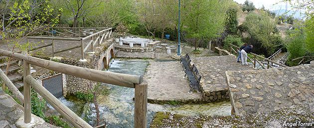 Área recreativa superior de rio frio