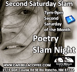 Live Poetry! 7pm-9pm each month