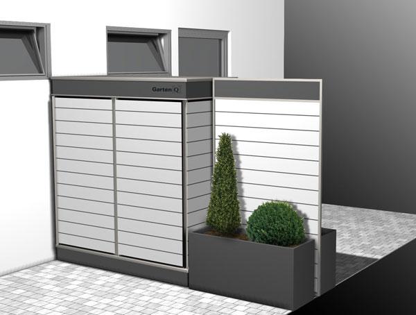 die l sung bietet jetzt ein neues garten q modell der. Black Bedroom Furniture Sets. Home Design Ideas
