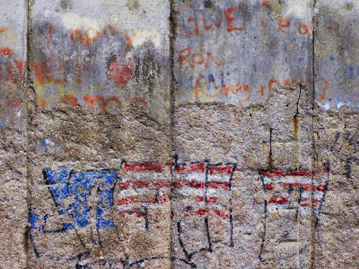 Die Mauerfallfeier von 2014 wurde 2015 bescheiden gefeiert