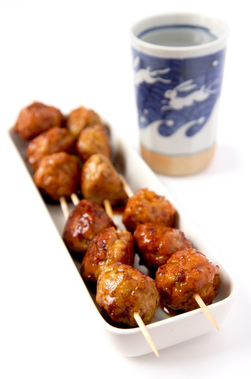 La cuisine de bernard boulettes de poulet yakitori for Cuisine bernard