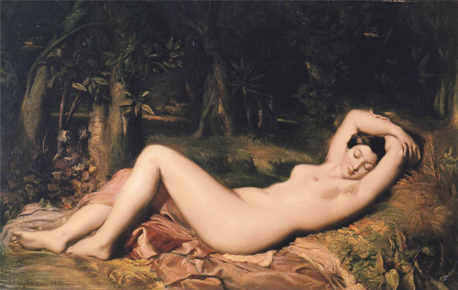 theodore chasseriau bather