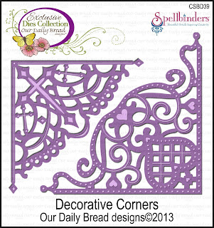 ODBD Custom Decorative Corners Dies