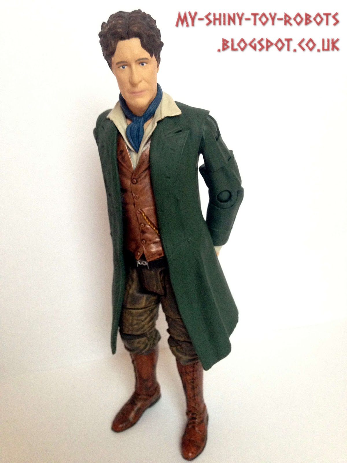 my shiny toy robots  toybox review  the night of the doctor eighth doctor