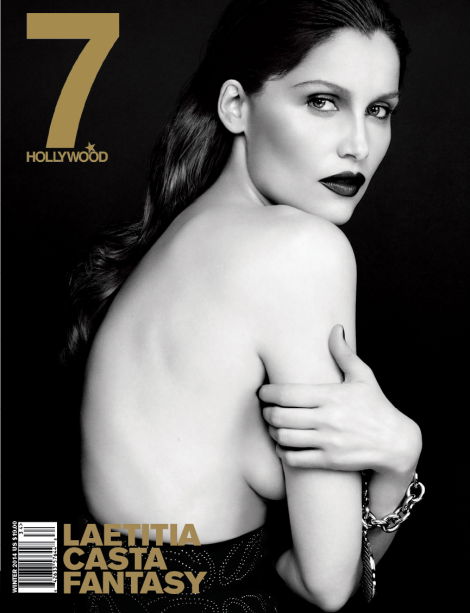 Laetitia Casta covers 7 Hollywood Magazine's Winter 2014