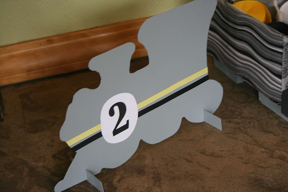 Modern DIY Train Themed Birthday Party