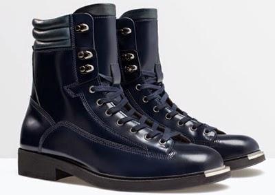 botas hombre Zara invierno 2015