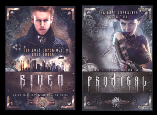COVER REVEALS: THE LOST IMPERIALS SERIES