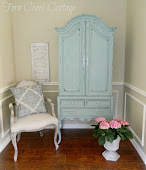 Blue Armoire