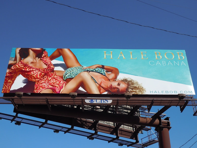 Hale Bob Cabana poolside billboard