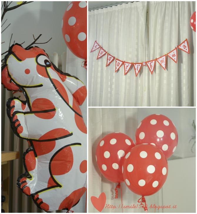 Festone compleanno della PIMPA, Banner di compleanno PIMPA