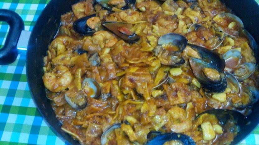 Gazpacho de marisco, gazpacho, marisco