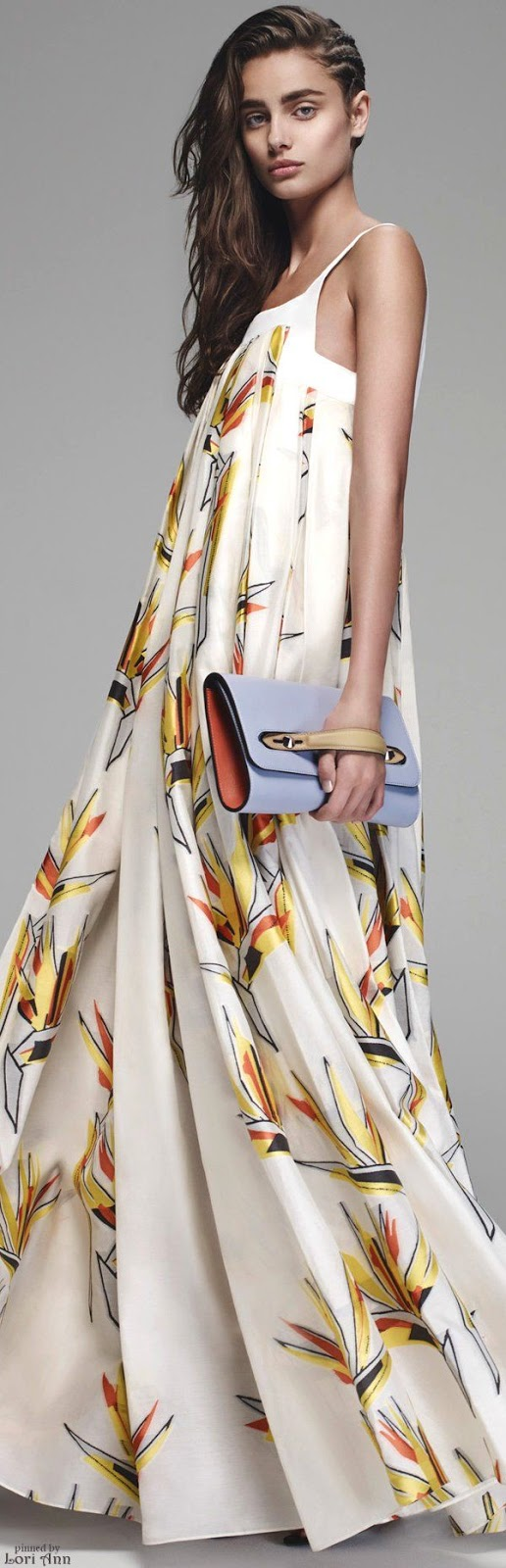 Desejo do dia - vestido Dress Fendi Resort 2016