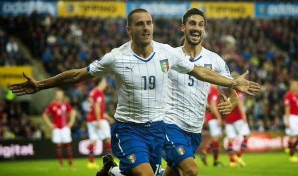 EURO 2016: NORVEGIA-ITALIA 0-2 - BUONA LA PRIMA CON ZAZA E BONUCCI