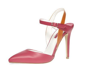Dorothy Perkins multicolored ankle strap heels