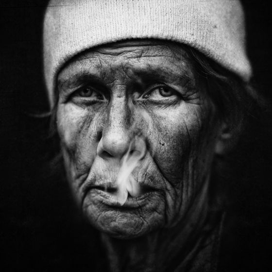 Lee Jeffries fotografias de mendigos