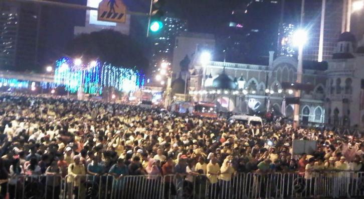 janji%2Bbersih8 Terkini: Himpunan Janji Bersih di Dataran Merdeka
