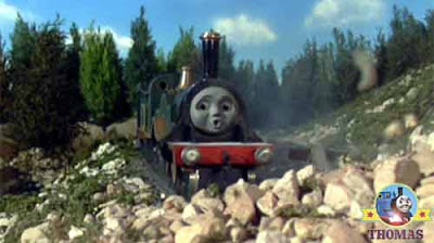 huge horrifying monster Emily tank engine gasped she glimpsed something dark and mysterious looking