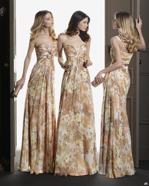 Moda y vestidos largos