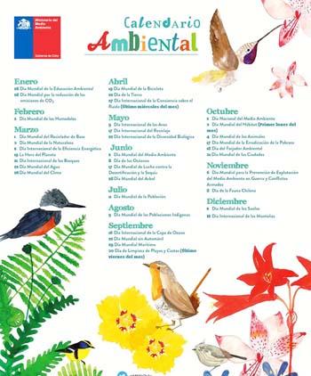 Calendario Efemérides Ambientales