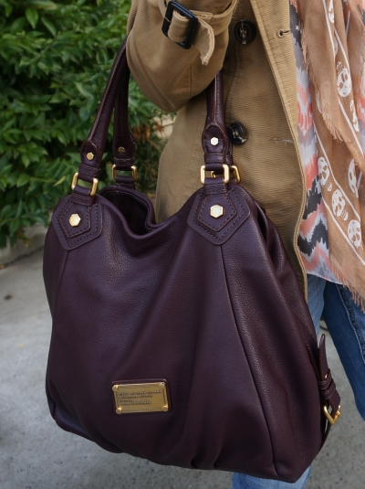 Away From The Blue Marc By Marc Jacobs Fran Bag Carob Brown