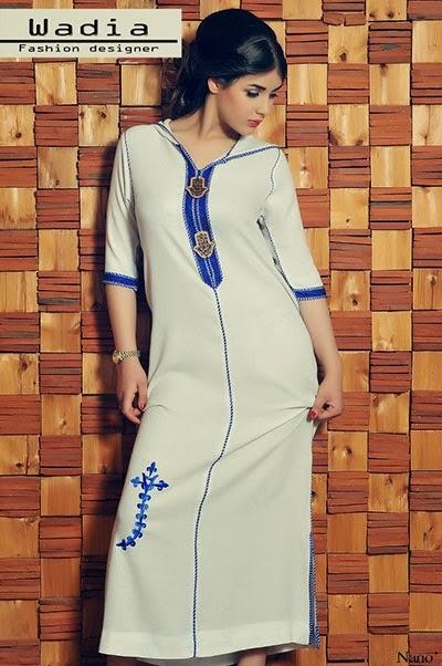 الجلابة المغربية التقليدية
