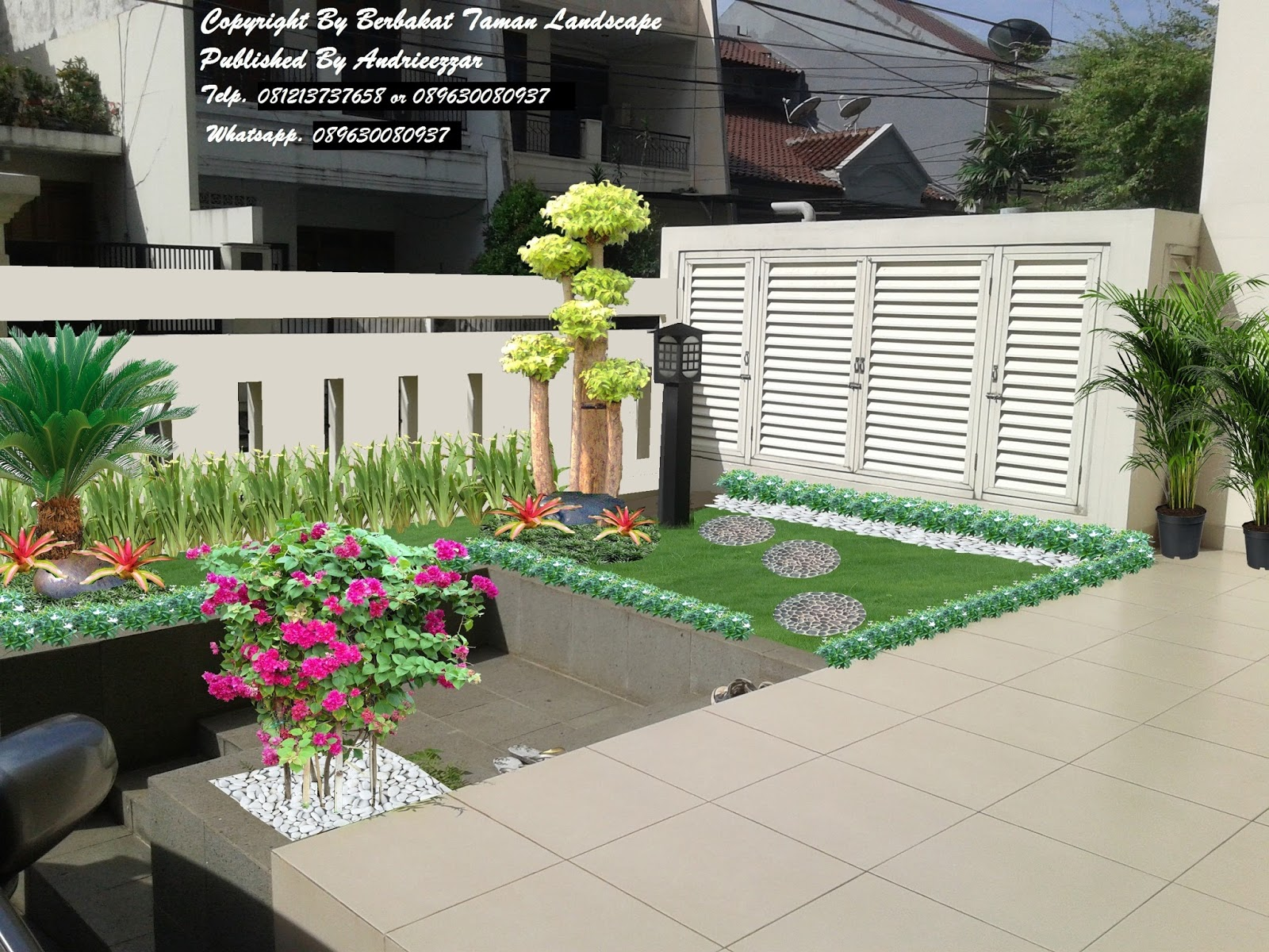 Image Result For Gambar Mewarnai Bunga Dalam Pot