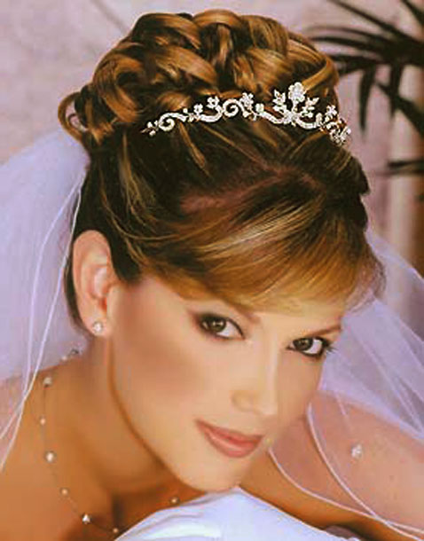 Latest Wedding Hairstyles 2012 - fashion world