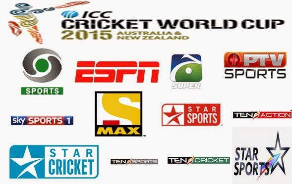 WATCH LIVE ICC Cricket World Cup 2015