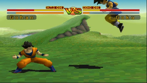 Dragon Ball Z Final Bout PSP