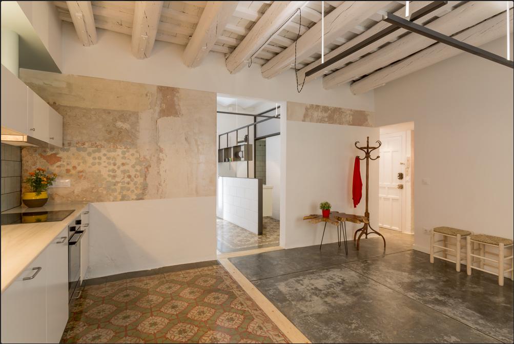 Mes caprices belges decoraci n interiorismo y - Reforma piso completo barcelona ...