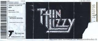entrada concierto thin lizzy