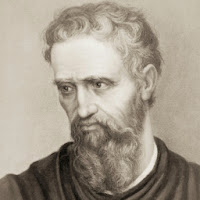 Picture of Famous Painter Michelangelo