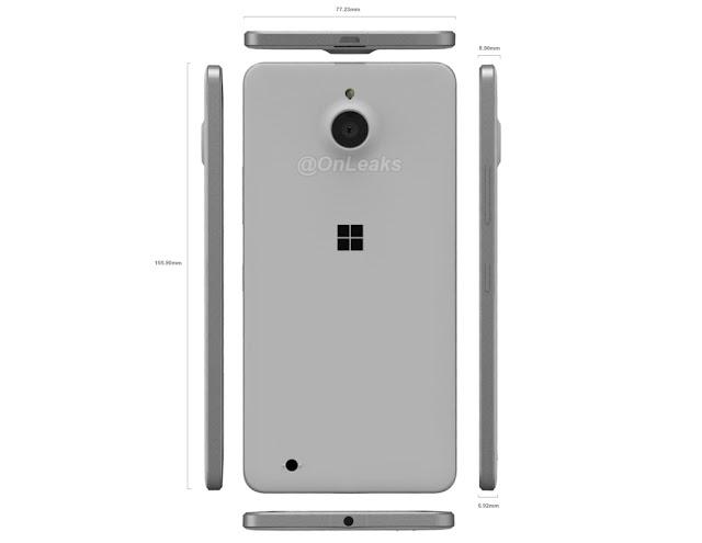 Inikah wujud asli Microsoft Lumia 850?