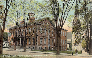Old Newburyport High School postcard
