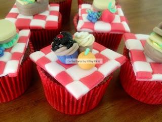 picnic cupcakes Cupcakes PICNIC + Confeitaria!!