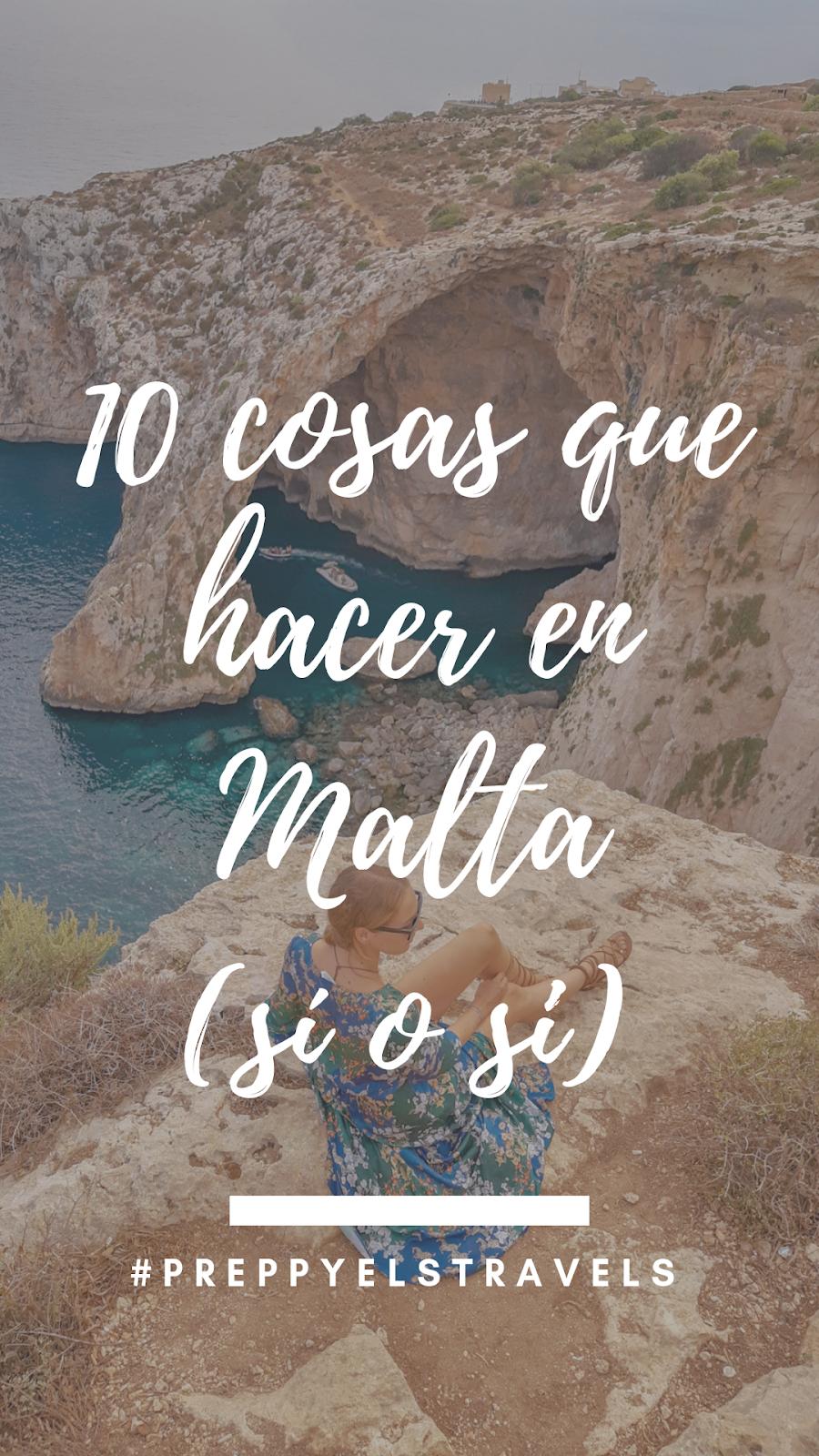 10 COSAS QUE HACER EN MALTA