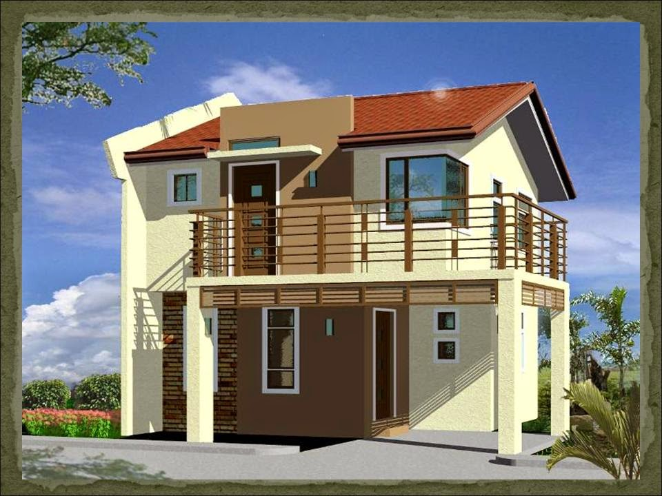 33 beautiful 2 storey house photos for Budget home designs philippines