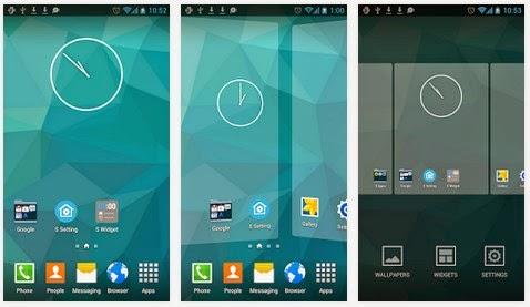 Galaxy S5 Launcher Apk