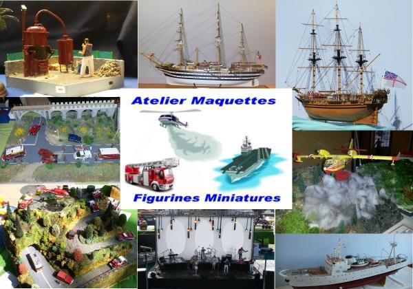 AMFM - Atelier Maquettes Figurines Miniatures