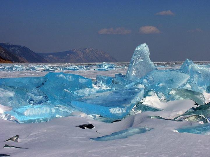 Baikal Russia  City pictures : El hielo turquesa del Lago Baikal, el más grande del mundo