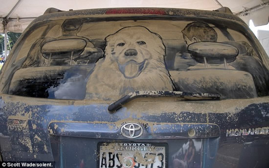 Dirty Car Art 1