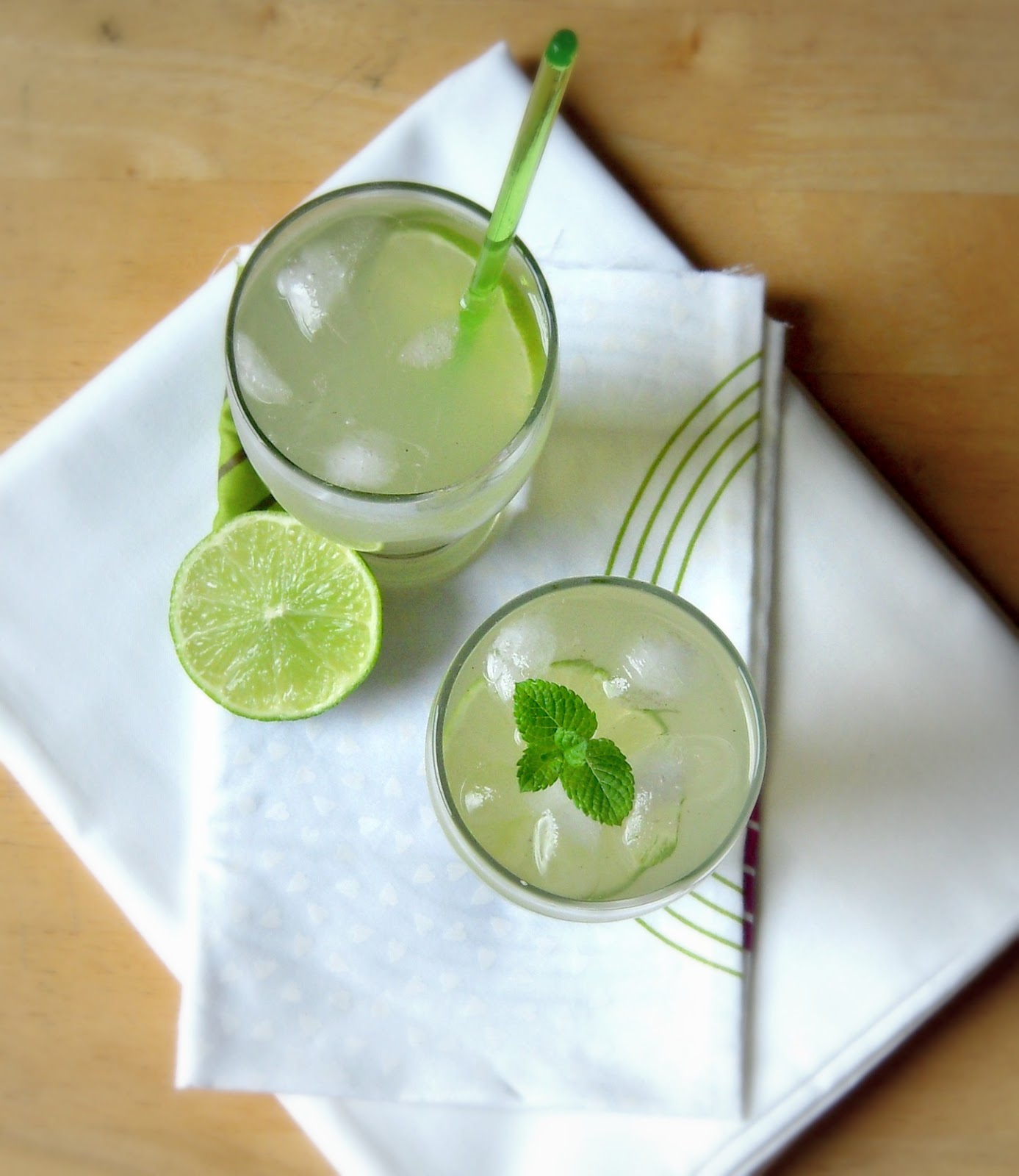 how to prepare lime soda