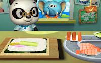 Ristorante del Dottor Panda: gioco app android per bambini