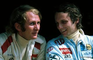 Helmut Marko - Niki Lauda